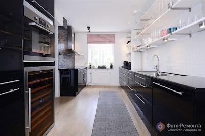 Desain Rumah Dapur Besar Indah dan Menarik