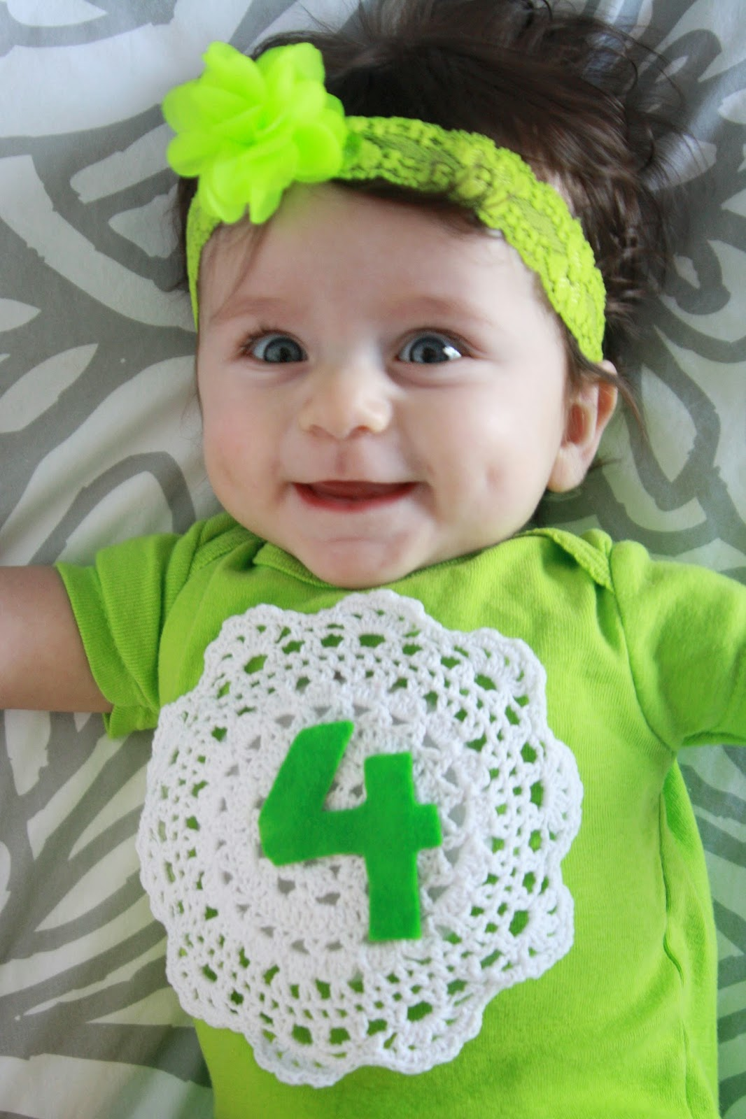 miller moments: baby girl is four months old!
