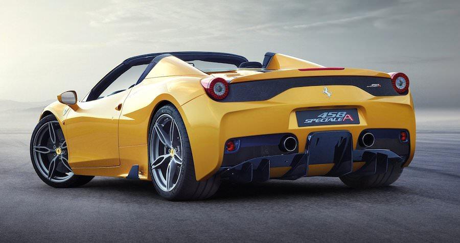 フェラーリ458スペチアーレA