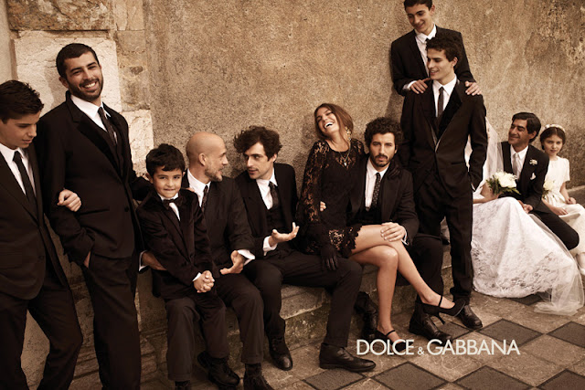 Dolce & Gabbana Fall/Winter 2012-2013 menswear Campaign
