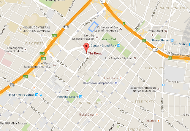 Google Map: The Broad