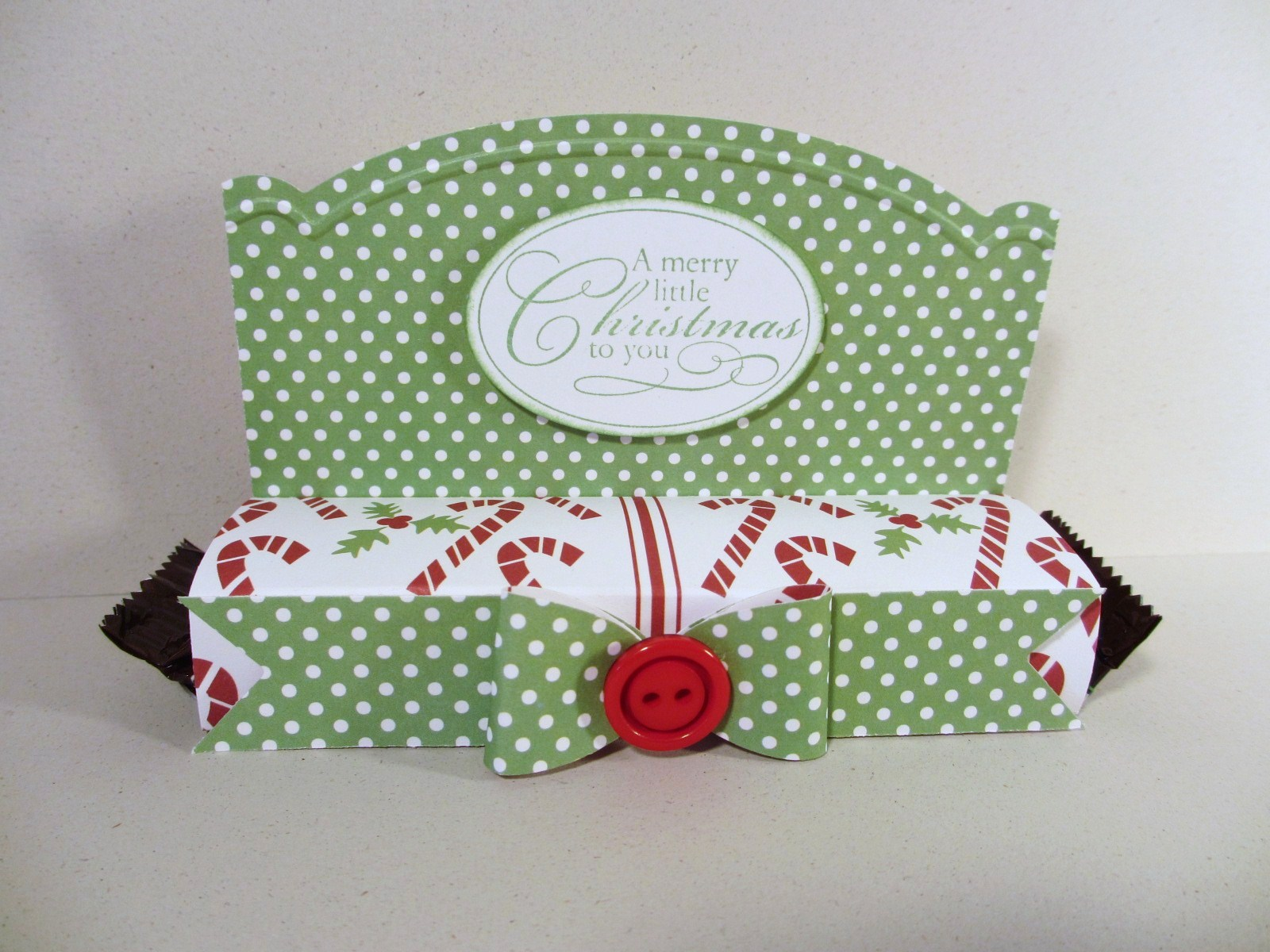 Sincerely, Babette: Christmas Candy Bar Wrapper
