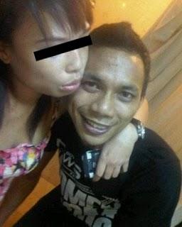 foto ciuman mesra briptu norman kamara