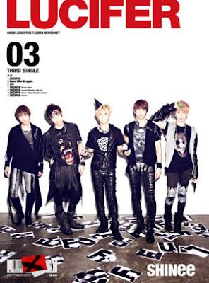 SHINee Lucifer Japanese version members
