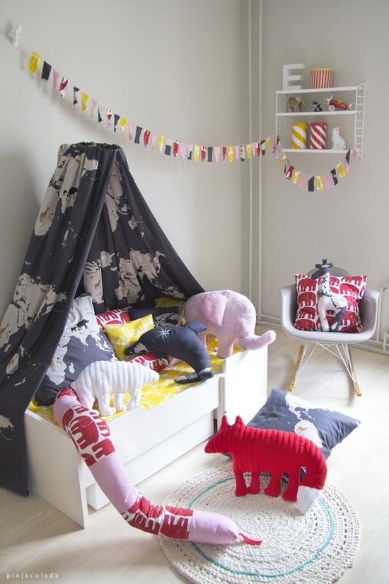 Preciosos dise os de dormitorios para los ni os casas for Dormitorio ninos diseno