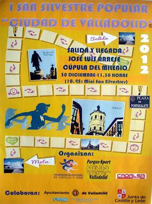 CARTEL - EN CASTILLA: San Silvestre Ciudad de Valladolid