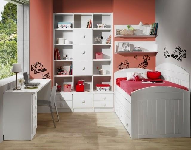 Dormitorios para ni as en rosa dormitorios colores y estilos - Dormitorio de nina ...