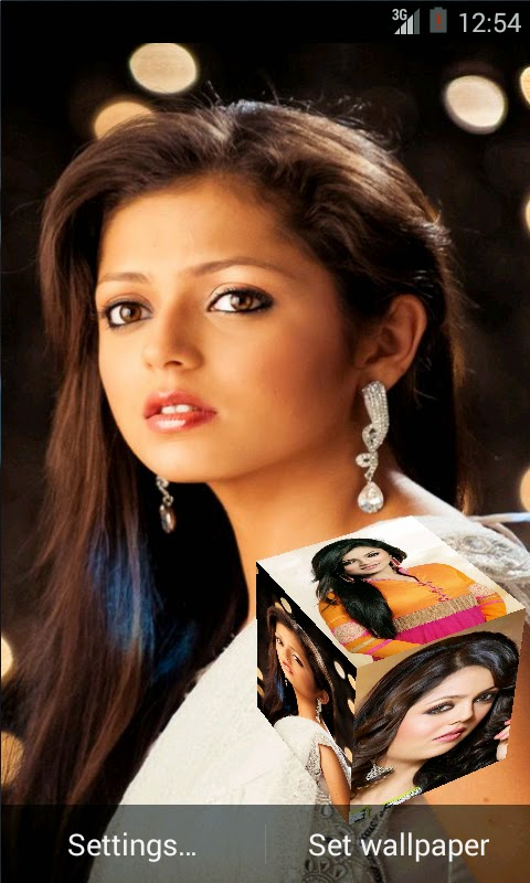 Drashti Dhami 3D Live Wallpaper For Android Mobile Phone
