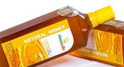 mật ong nguyên chất trong lọ thủy tinh