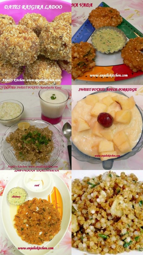 ASHADHI EKADASHI SPECIAL RECIPES