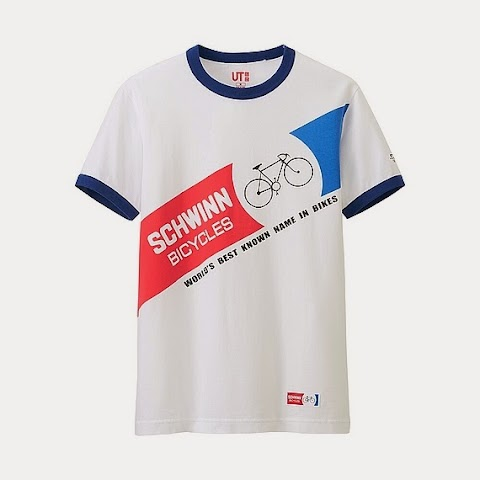 Schwinn T-shirts at UNIQLO
