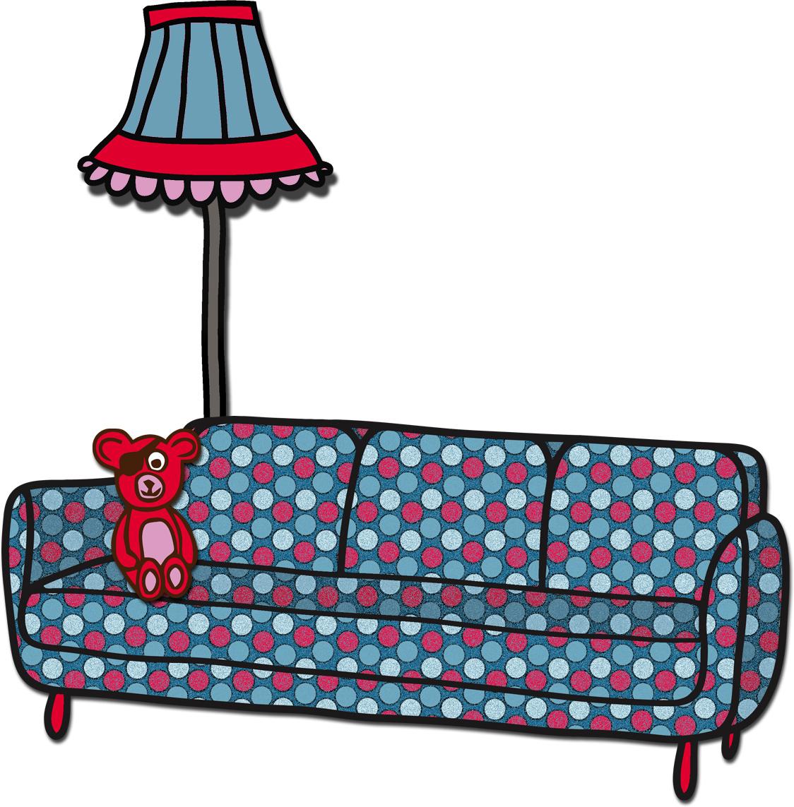 Sofa gezeichnet  Eladu: September 2012