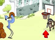 Rigby y Mordecai Basket