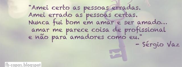 Capa para Facebook - Poesia - Amar - fb-capas.blogspot