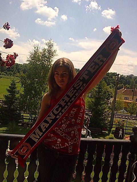 Mirjana - A Manchester United girl