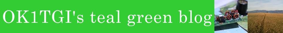 OK1TGI's teal green blog
