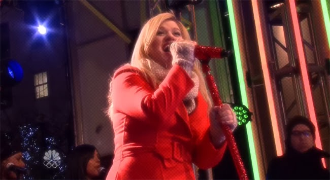 Rockefeller Center kelly clarkson
