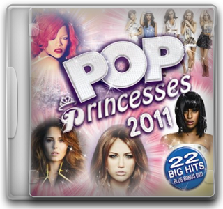 Capa CD Pop Princesses 2011