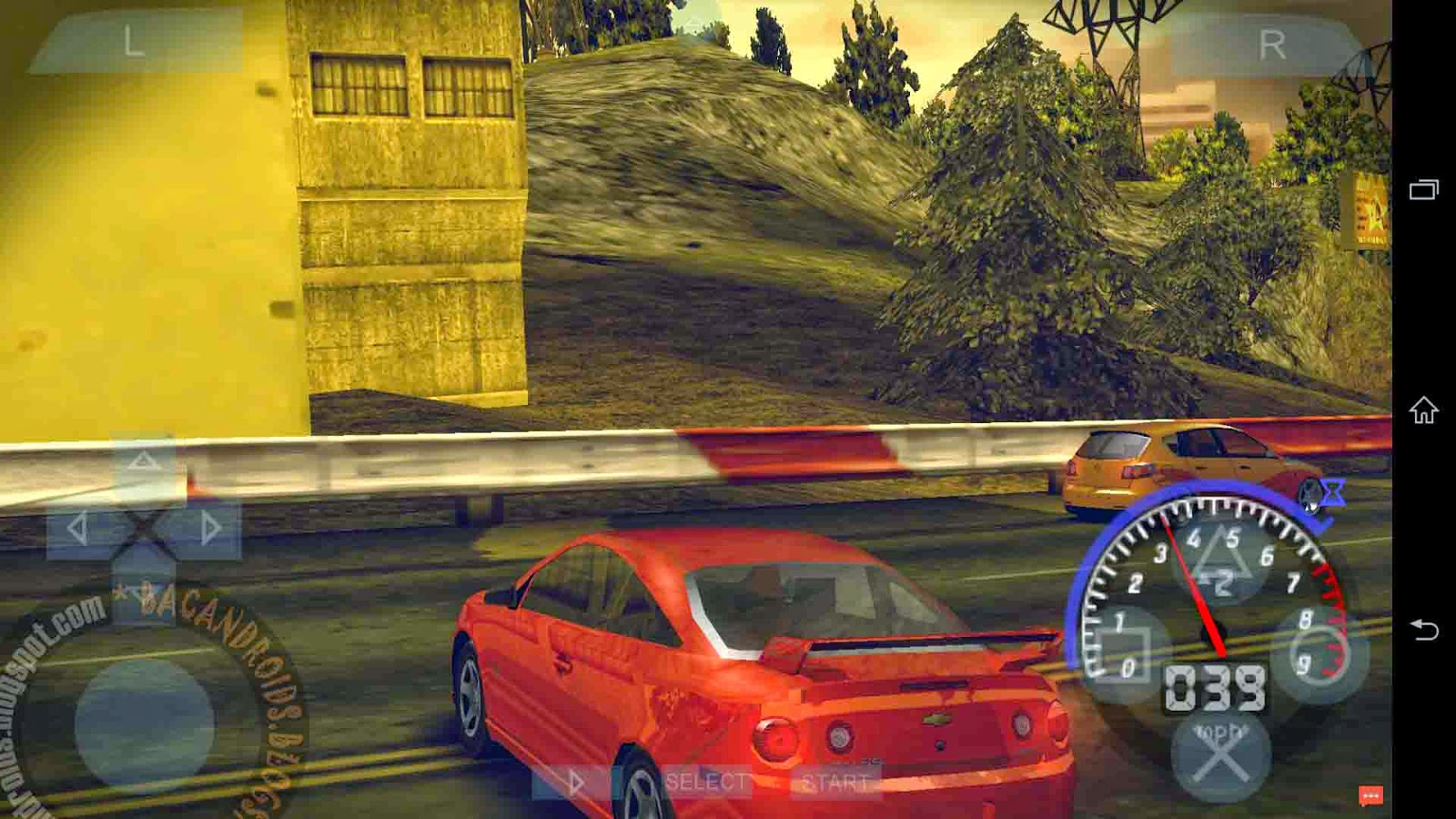 Link Download ROM game PSP iso Android NFS