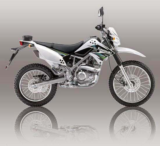 Kawasaki KLX 150S Putih