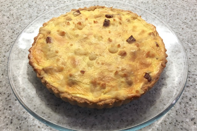 Vegan Quiche made with Follow Your Heart VeganEgg