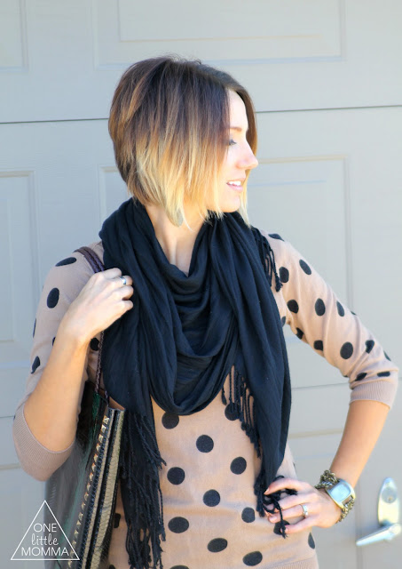 short ombre hair, stacked