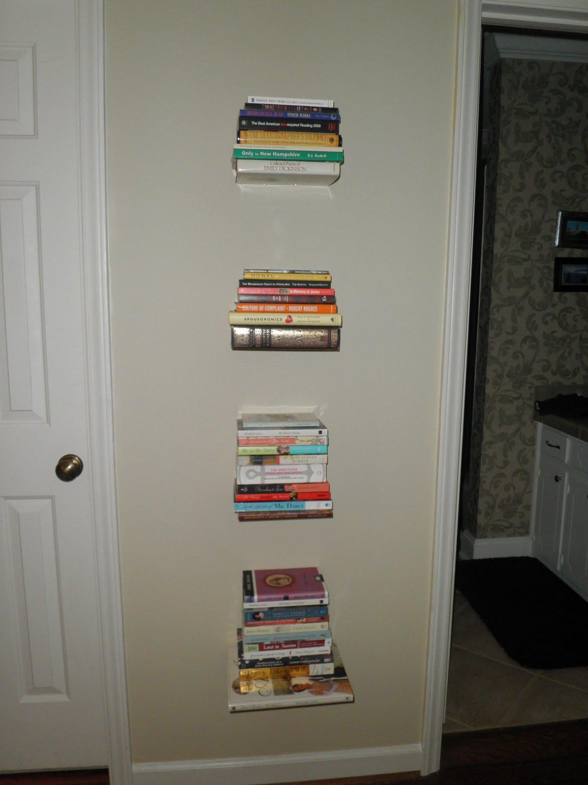 caroline bookbinder invisible bookshelves follow up