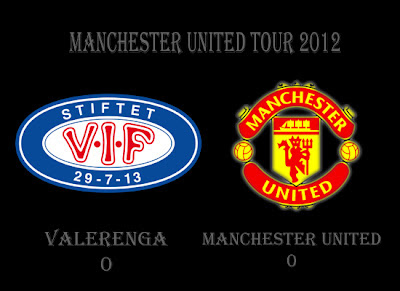 Valerenga (0) vs (0) Manchester United, Result Man Utd vs Valerenga