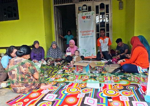 Sosialisasi Bank Sampah Melati Bersih