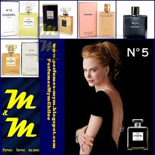 PERFUMES CHANEL PARIS