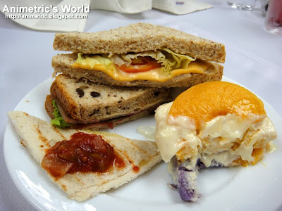 Gardenia Sandwich Buffet