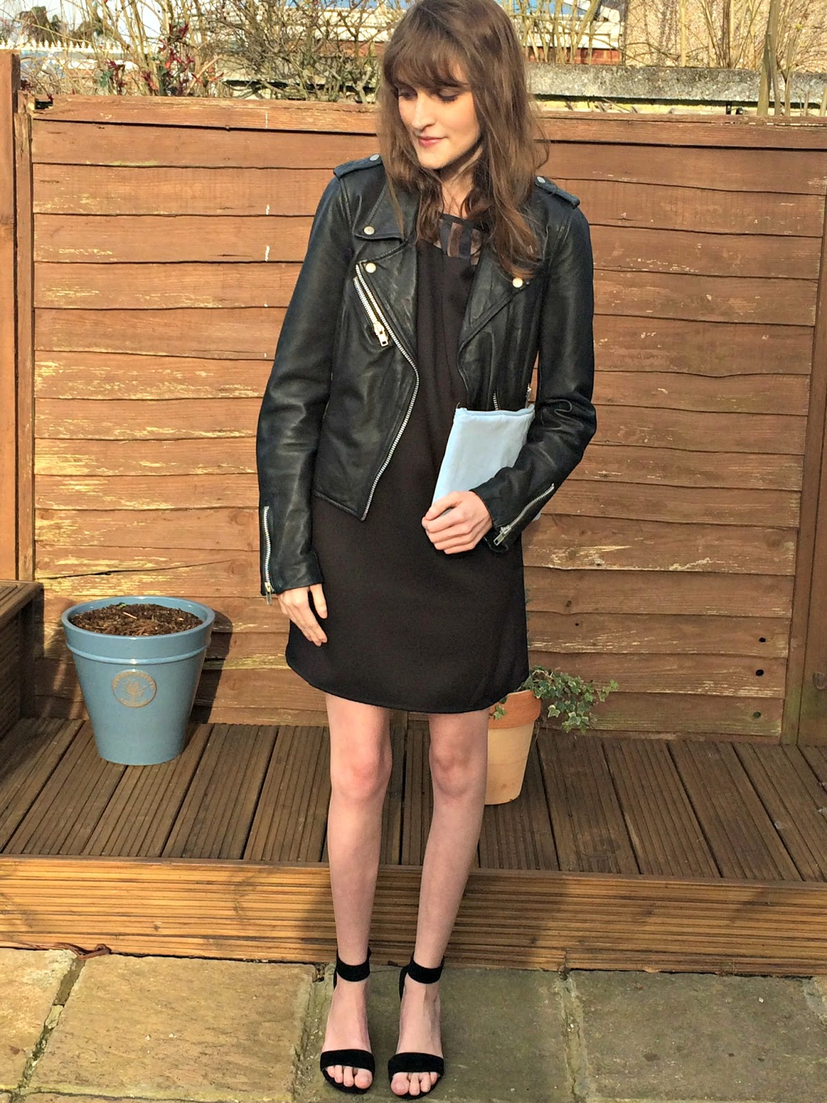 Leather jacket boohoo - Boohoo Sally Dress Review