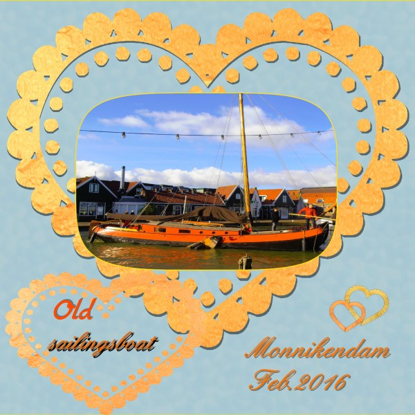 March 2016 – Old sailingboat