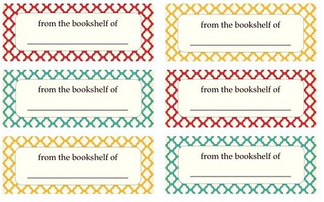 photo regarding Free Printable Book Labels called Be DifferentAct All-natural: Totally free Printable E-book Labels