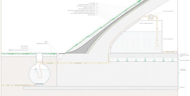 Daniele ruggeri project febbraio 2013 for Sezione tetto giardino