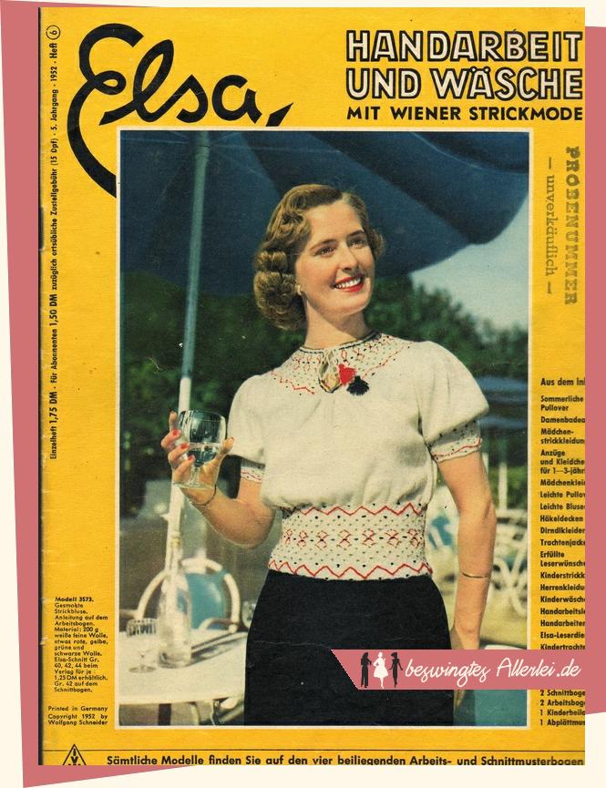 Elsa 06/1952 - Titel