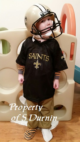 nfl saints costume set