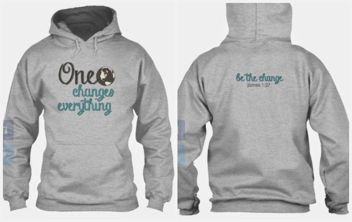 changes sweatshirt from hope