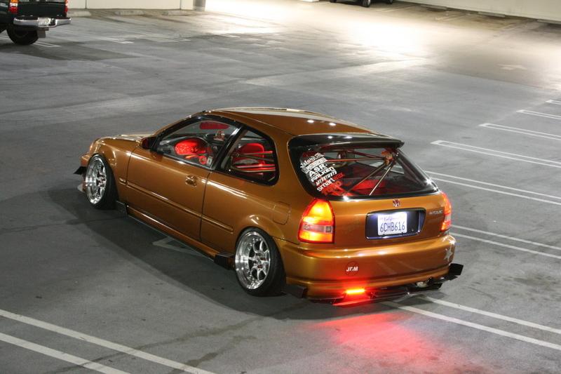 Modified Honda Civic ~ Modified Cars Zone