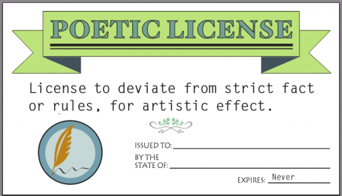 Poetic License >> The Blog Spellbound By Our Own Imperfect Lives Dear Reader And