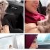9 Gambar Butang Baju Mia Ahmad atau Yuhanis Terbuka Bersama Kucing Jadi Perhatian Pengguna Facebook