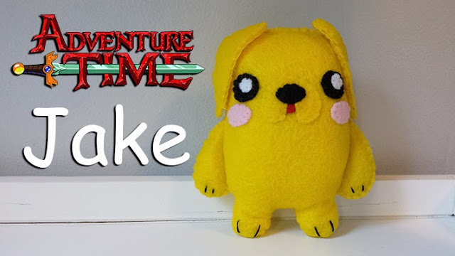 How to Make an Adventure Time Jake plushie tutorial
