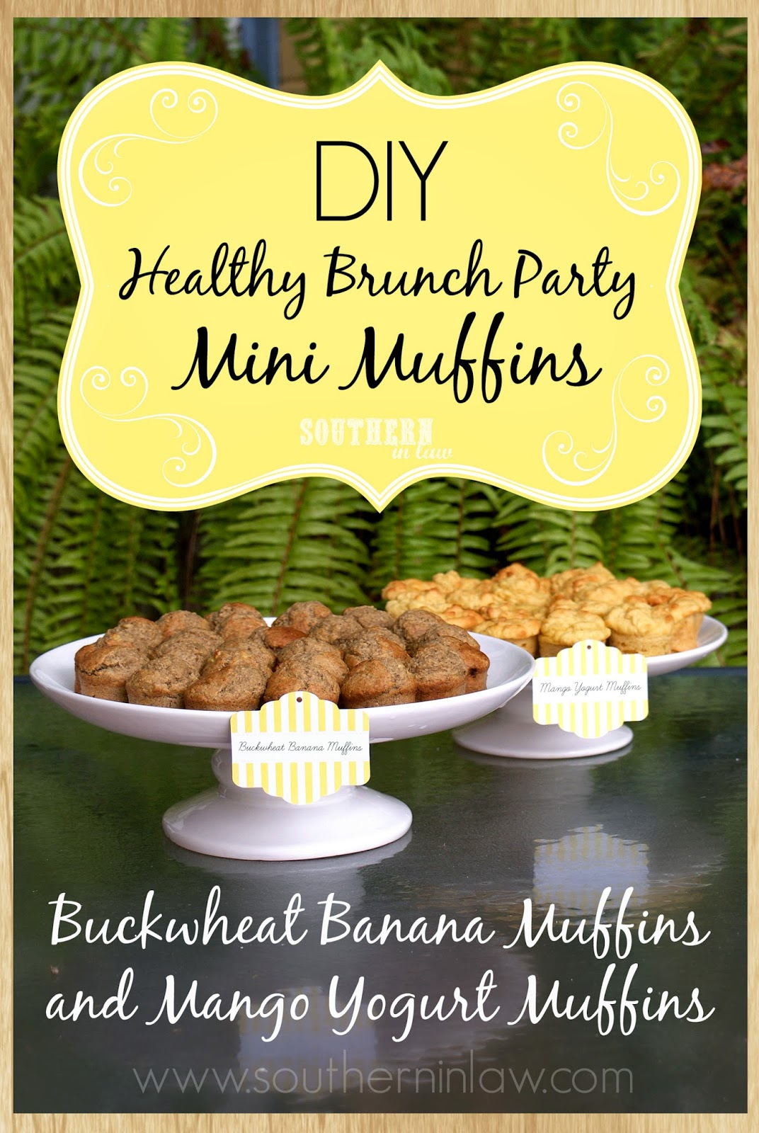 How to host your own healthy brunch party - Healthy gluten free mini muffins recipes