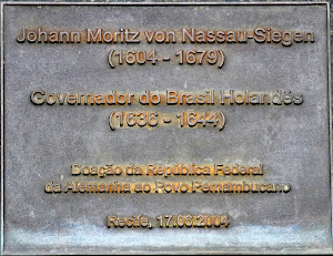Placa do Busto de Nassau