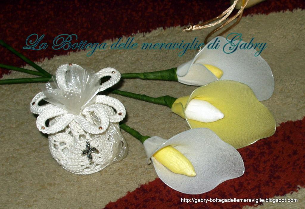 Molto La Bottega delle meraviglie di Gabry: Bomboniera e fiore-segnaposto IL86
