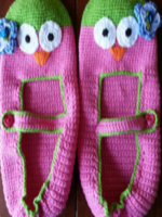 http://www.ravelry.com/patterns/library/owl-slippers-2