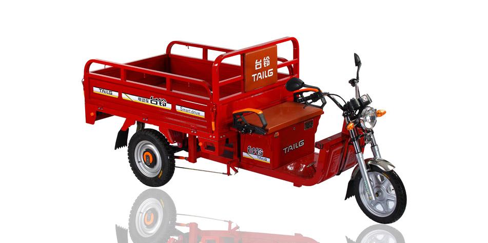 Triciclo utilitario electrico