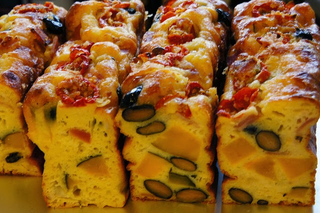 street food cuisine du monde recette de cake aux asperges jambon et fromage. Black Bedroom Furniture Sets. Home Design Ideas