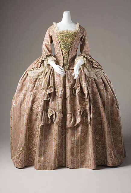 Nancy 39 s daily dish not for gravy the bourdaloue for 18th century wedding dress