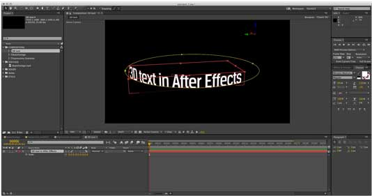 How to Use Effects in After Effect